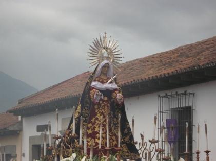 Virgen de Dolores - Parroquia de San Bartolomé Becerra